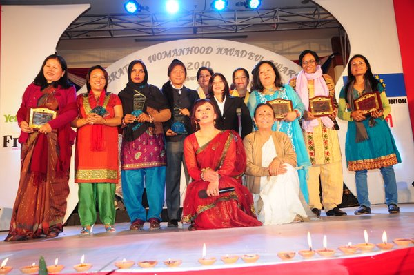All the nominees of Celebrating Womanhood 2010
